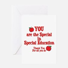 Special Education Greeting Card