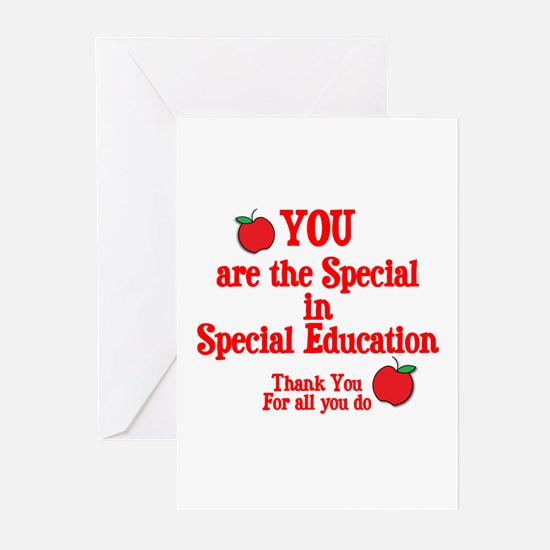 Special Education Greeting Cards (Pk of 20)