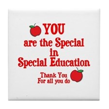 Special Education Tile Coaster