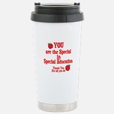 Special Education Stainless Steel Travel Mug