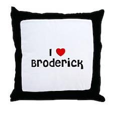 I * Broderick Throw Pillow