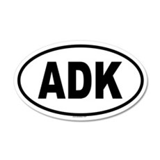 ADK 20x12 Oval Wall Peel