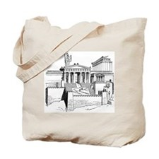 Acropolis Approach Tote Bag