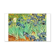 Van Gogh Irises 20x12 Wall Peel