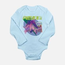 SMEGOSAURUS Long Sleeve Infant Bodysuit