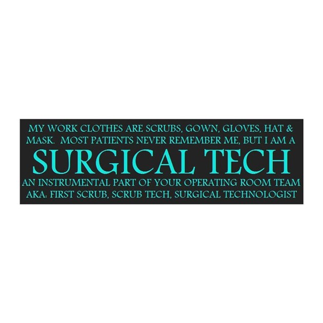 Surgical Technologist 20x6 Wall Peel By Admin Cp13613983
