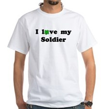 I love my Soldier - lucky clover Shirt
