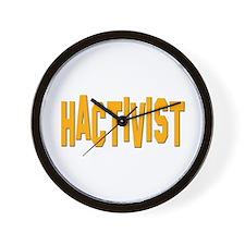 Hactivist Wall Clock