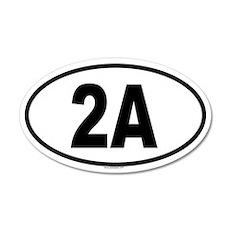 2A 20x12 Oval Wall Peel