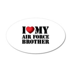 Air Force Brother 20x12 Oval Wall Peel