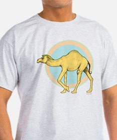 Cosmic Camel Ash Grey T-Shirt
