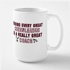 Great Cheer Coach - Pink Zebr Mug