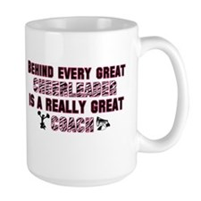 Great Cheer Coach - Pink Zebr Mug