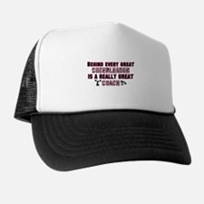 Great Cheer Coach - Pink Zebr Trucker Hat