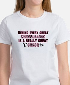 Great Cheer Coach - Pink Zebr Women's T-Shirt