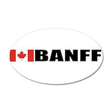 Banff 20x12 Oval Wall Peel