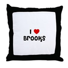 I * Brooks Throw Pillow