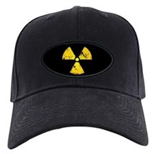 Distressed Radiation Symbol Baseball Hat