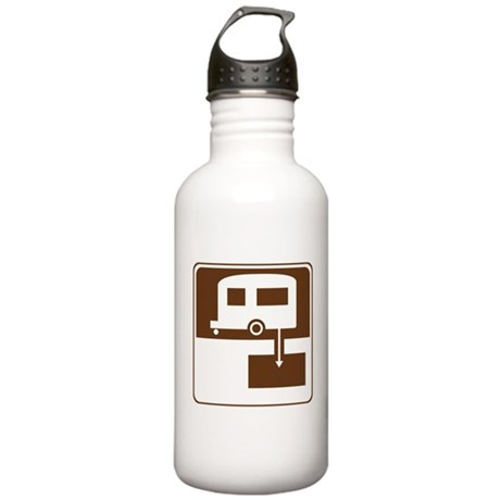 Dump Station Sign Stainless Water Bottle 1.0L