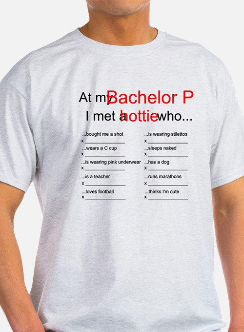 Bachelor Party Scavenger Hunt T-Shirt