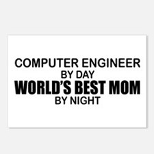 World's Best Mom - Comp Eng Postcards (Package of