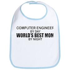 World's Best Mom - Comp Eng Bib