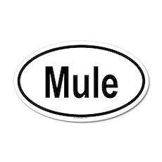 MULE 20x12 Oval Wall Peel