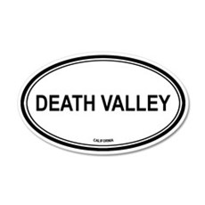 Death Valley oval 20x12 Oval Wall Peel