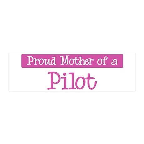 Proud Mother of Pilot 36x11 Wall Peel
