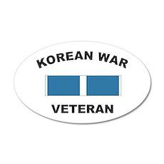 Korean War Veteran 20x12 Oval Wall Peel