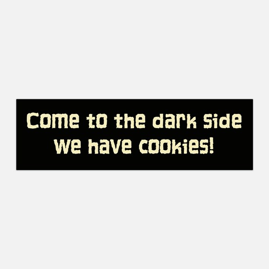 The Dark Side 20x6 Wall Peel