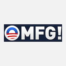 Obama OMFG 36x11 Wall Peel