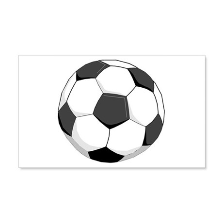 Soccer Ball 20x12 Wall Peel