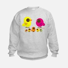 """""""birds + 5 birdies"""" Sweatshirt"""