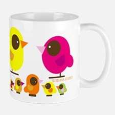 """birds + 5 birdies"" Mug"