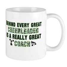 Great Cheer Coach - Green Zeb Mug