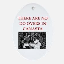 canasta Ornament (Oval)