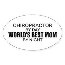 World's Best Mom - Chiropractor Decal