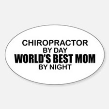 World's Best Mom - Chiropractor Decal