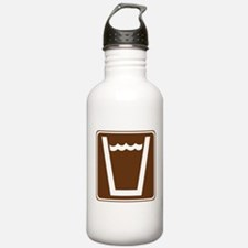 Drinking Water Sign Water Bottle