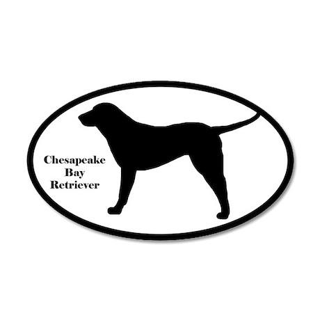 Chesapeake Bay Retriever Silhouette Sticker