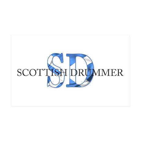Scottish Drummer SD 35x21 Wall Peel