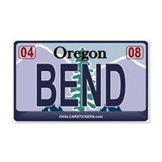 Oregon Plate - BEND 20x12 Wall Peel