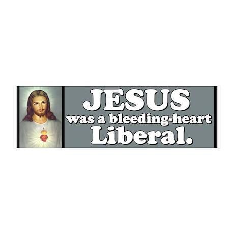 Liberal Jesus 20x6 Wall Peel