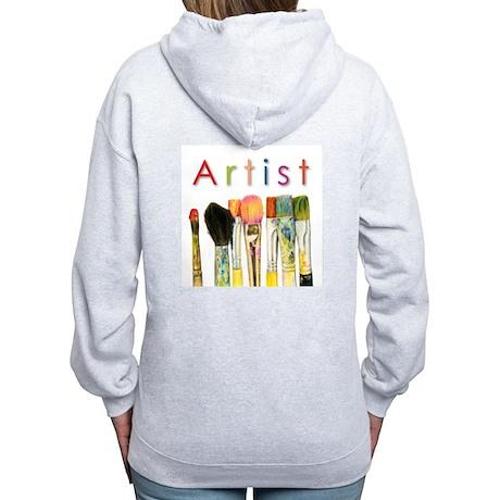 ACEO Art Women's Zip Hoodie
