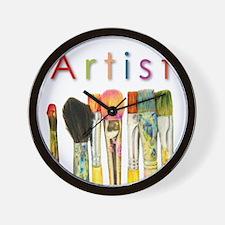 ACEO Art Wall Clock