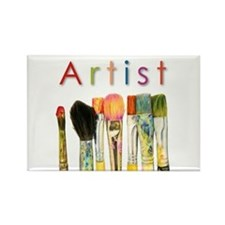 ACEO Art Rectangle Magnet