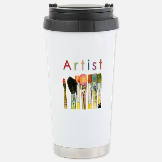 ACEO Art Stainless Steel Travel Mug