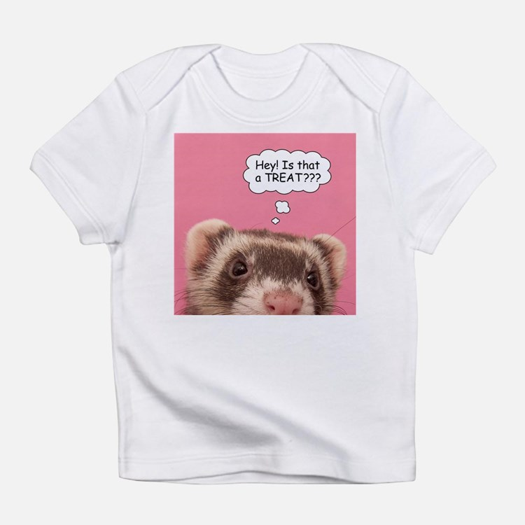 Hey - Treat? - Creeper Infant T-Shirt
