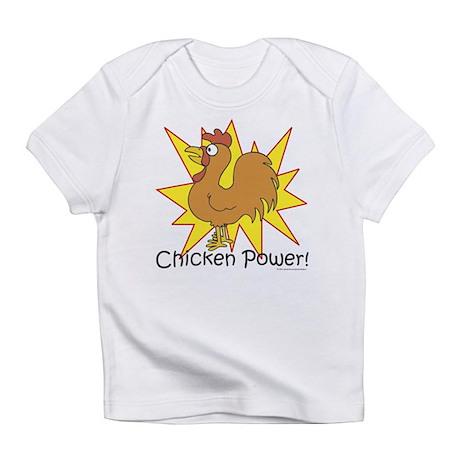 Chicken Power Creeper Infant T-Shirt
